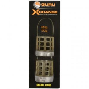Cosulet Guru X-Change Distance Feeders, X-Small, 20g+30g, 2bc