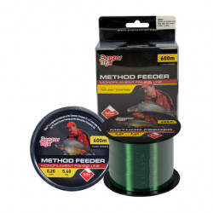 Fir Benzar Method Feeder Teflon Dark Green 600m