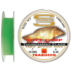 Fir monofilament S-Force Soft Carp Hi-Viz 500m Trabucco