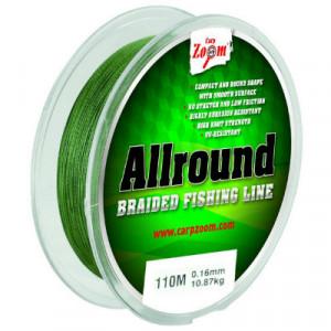 Fir textil Carp Zoom AllRound Braided, Green, 110m