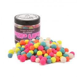 Fluoro Pop-Ups Pineapple & Squid 10-15mm Bait-Tech
