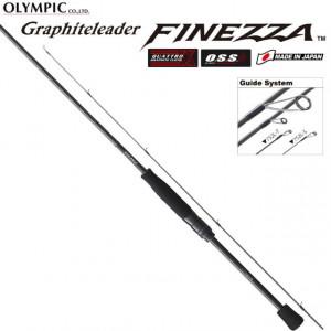 Lanseta Graphiteleader Finezza GLFS-752L-TS R-Fast, 2.26m, 0.5-5g, 2 tronsoane