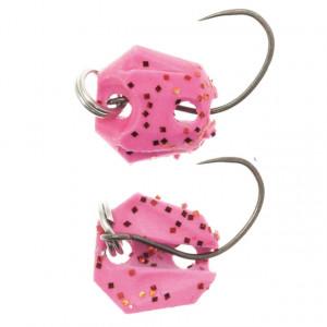 Lingurita oscilanta Neo Style Premium, 81 Dark Pink Glow Flame, 2g
