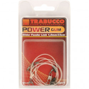 Montura feeder power gum 33cm/ 2buc plic Trabucco
