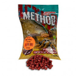 Pelete Benzar Mix Method, Red Krill, 800g