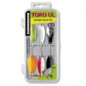 Set 6 lingurite oscilante Cormoran Toro UL1-UL7