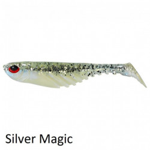 Shad Ripple 7 cm Silver 8 buc / plic Berkley