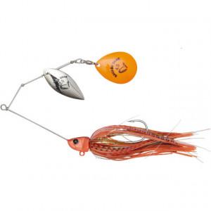 Spinnerbait Savage Gear Da Bush, Fluo Orange, 14cm, 21g