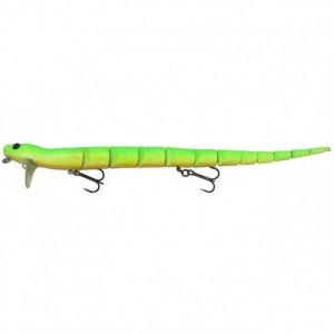 Vobler 3D Snake 20cm, 25g Green Fluo Savage Gear