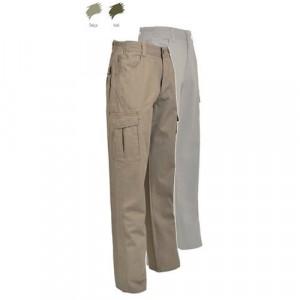 Pantaloni de vara bej cargo Treesco