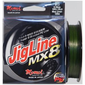 Fir textil Jigline MX8 Moss Green 125m Momoi