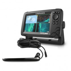 Sonar Lowrance HOOK Reveal 7 TripleShot CHIRP, SideScan, DownScan & Base Map