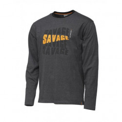 Bluza maneca lunga Savage Gear Simply Logo-Tee