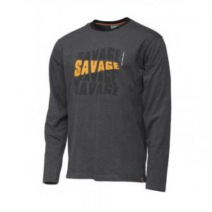 Bluza maneca lunga Savage Gear Simply Logo-Tee