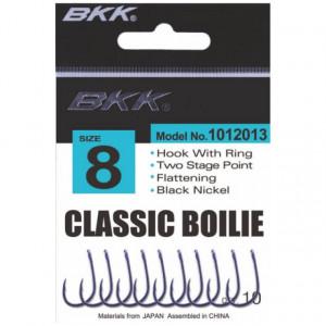 Carlige BKK Classic Boilie Diamond, Black Nickel