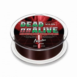 Fir monofilament Dead or Alive Brown, 150m Varivas
