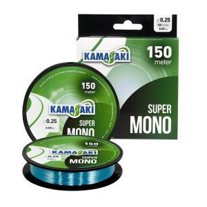 Fir monofilament Super Mono Albastru, 150m Kamasaki