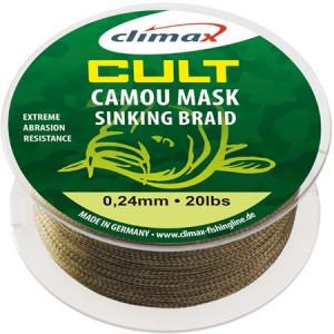 Fir textil Climax Cult Camou Mask Sinking Braid, 1200m