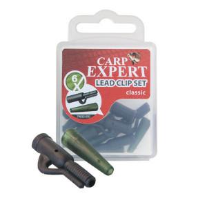 Kit Montura Plumb Pierdut Carp Expert Lead Clip Classic, 6 buc/plic