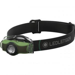 Lanterna Led Lenser MH4 Green, 200 Lumeni