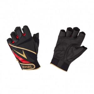 Manusi cu Degete Taiate Varivas Stretch Fit Glove 5, Black