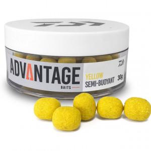 Momeala flotanta carlig Daiwa Semi-Buoyant, yellow, 6-8mm, 30g