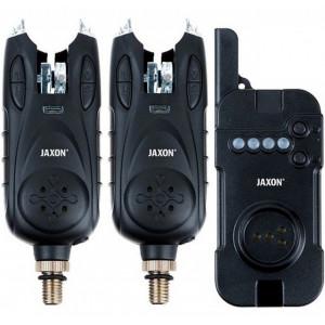 Set 2 avertizoare wireless cu statie Jaxon XTR Carp Vertus