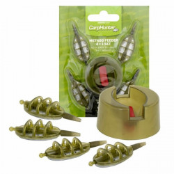 Set Momitoare Method Feeder 4+1 Carp Hunter