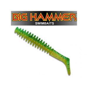 Shad Big Hammer Ring Swimbaits, Invader, 10cm, 4 buc