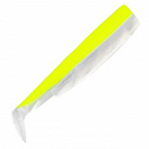 Shad Fiiish Black Minnow 160, yellow white fluo, 16cm, 3buc