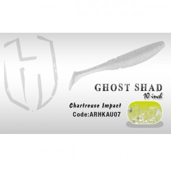 Shad Ghost 10cm Chartreuse Impact Herakles
