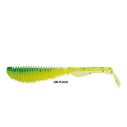 Shad Soul Shad Lime Yellow 7.5cm 10buc/plic Rapture