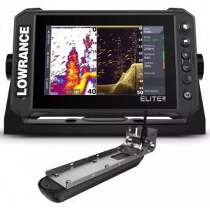 Sonar Lowrance Elite 7 FS, Active Imaging 3 in 1, GPS