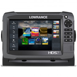 Sonar Lowrance HDS-7 Carbon Total Scan cu GPS si Chartplotter Gen3