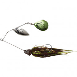 Spinnerbait Savage Gear Da Bush, Motoroil, 14cm, 21g