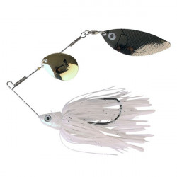 Spinnerbait Silver Gold 17g Savage Gear