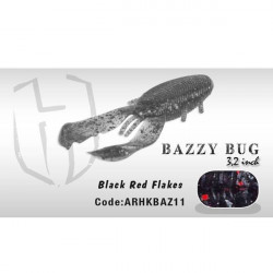 "Vobler Bazzy Bug 3.2"" 8cm Black Red Flakes Herakles"