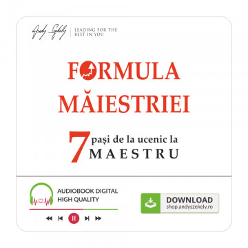 Audio - Formula Măiestriei - produs online (MP3)
