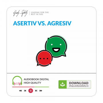 Asertiv VS Agresiv - produs online (MP3)
