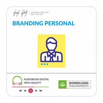 Branding Personal - produs online (MP3)