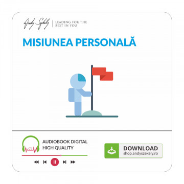 Misiunea Personală - produs audio online (MP3)