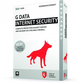 Poze G Data Internet Security Licenta Electronica 1 PC - 1 An (Renewal)