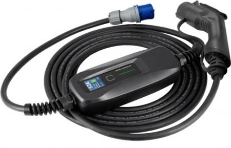 Statie de incarcare portabila masini electrice conector CEE la Type1/Type2,16A/32A, LCD