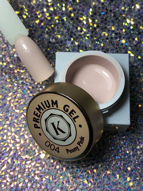 Gel color premium UV/LED Kayara 004 Peony Pink