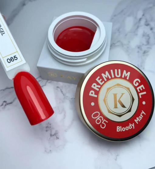 Gel color premium UV/LED Kayara 065 Bloody Mary