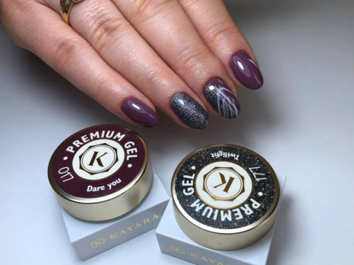 Gel color premium UV/LED Kayara 177 Twilight