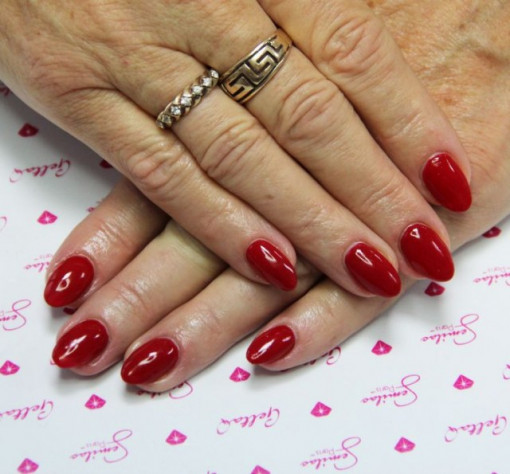 Poze Gel color Semilac 027 Intense Red