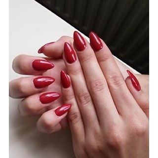 Gel color Semilac 069 Dirty Red