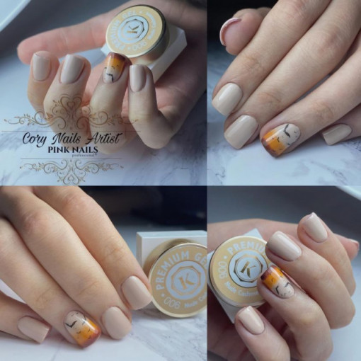 Gel color premium UV/LED Kayara 006 Nude Cashmere