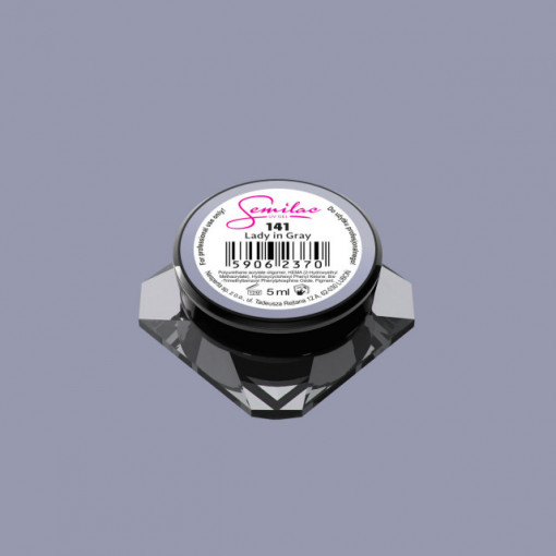 Gel color Semilac 141 Lady in Gray 5ml